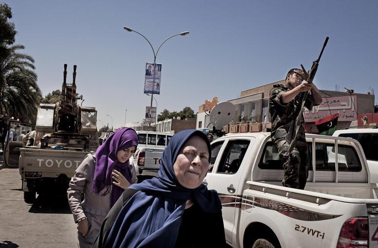 To Help End a War, Call Libya's Women Negotiators