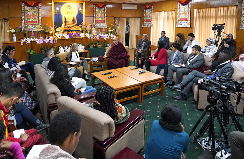 Dialogue with Youth Peacebuilders and the Dalai Lama