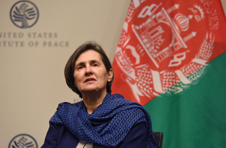 A Conversation with First Lady of the Islamic Republic of Afghanistan Rula Ghani