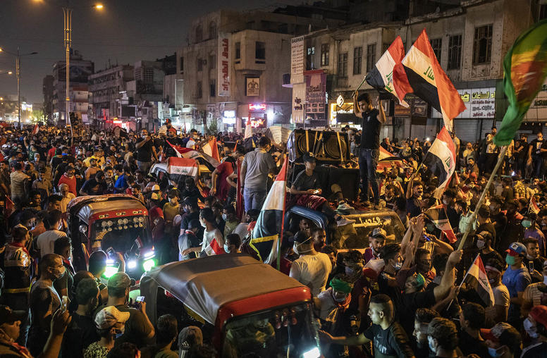 As Protests Continue in the Street, Iraq Reaches a Crossroads