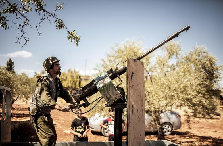 Amid Humanitarian Crisis, Syrian Regime Intensifies Idlib Offensive