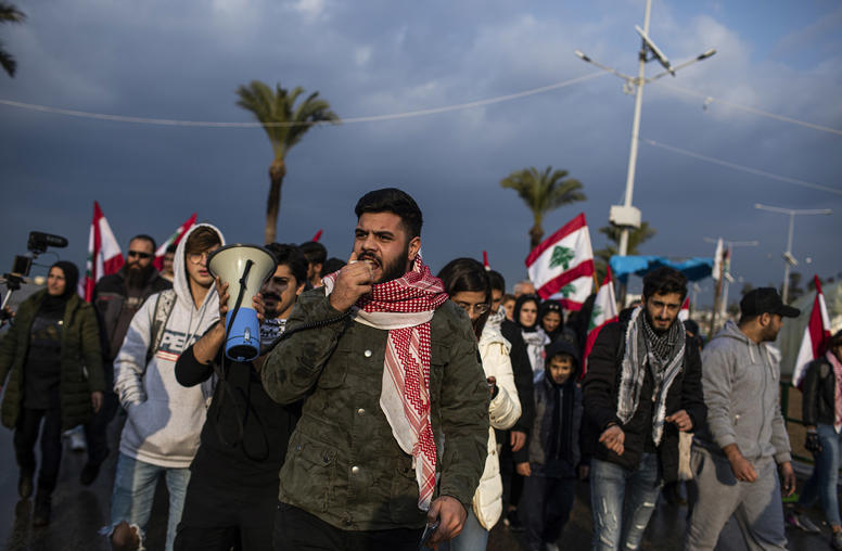 Lebanon's Protests Take a Troubling Turn During Dire Financial Crisis