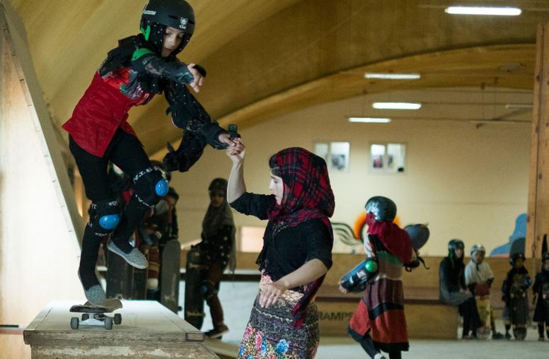 """(Postponed) """"Learning to Skateboard in a Warzone (if you're a girl)"""" Screening"""