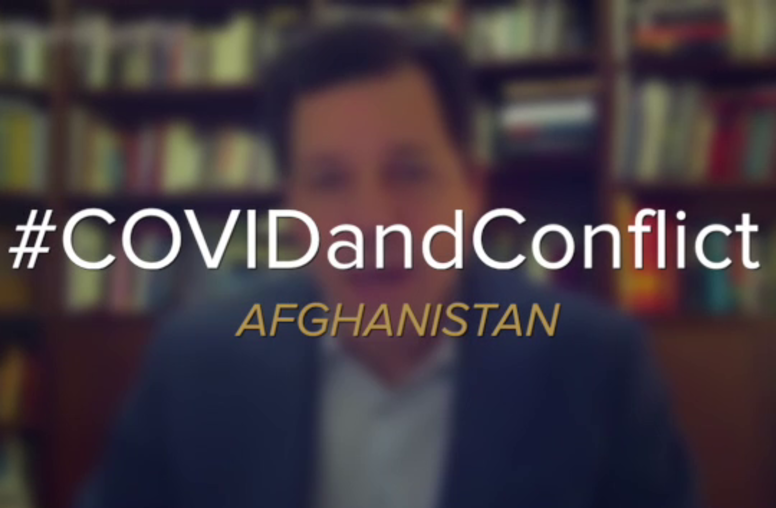 COVID-19 and Conflict: Afghanistan