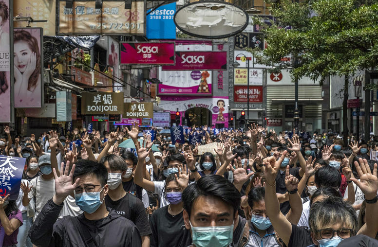 Beijing Legislation Reignites Hong Kong Protests