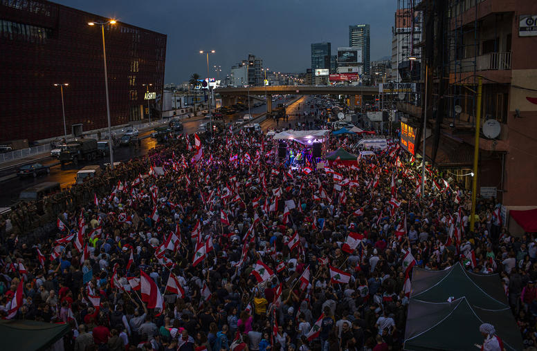 Lebanon's Protests Set to Pick up Despite Coronavirus Pandemic