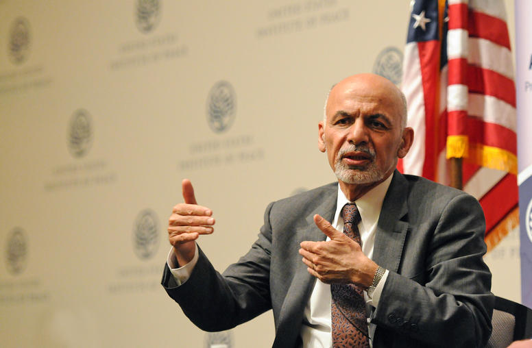 Afghan President Ghani: Freeing Prisoners Can Speed Peace Talks