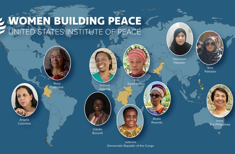 U.S. Institute of Peace Announces Finalists for Inaugural Women Building Peace Award