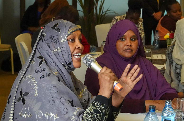 from Nairobi, Kenya: the launch of our partner Sisters Without Borders