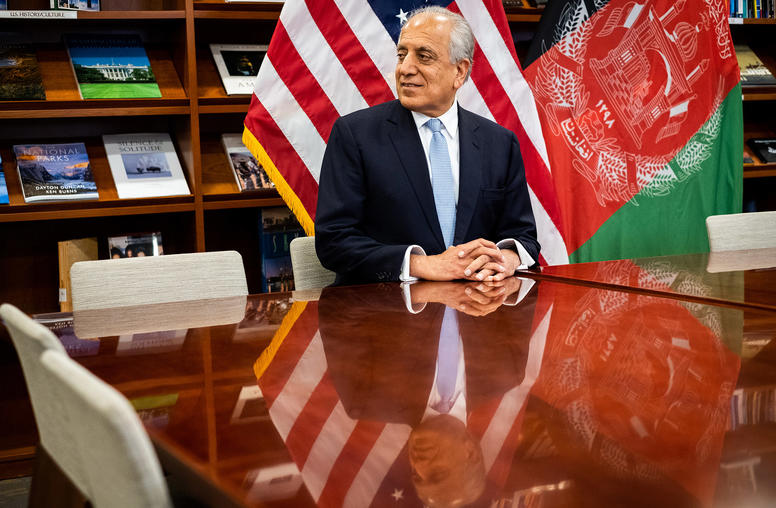Afghan Talks Are Historic Chance for Peace, Says Top U.S. Negotiator