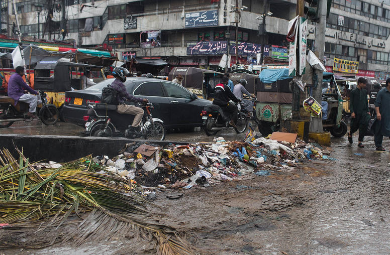 In Karachi, Flooding Lays Bare City's Governance Issues
