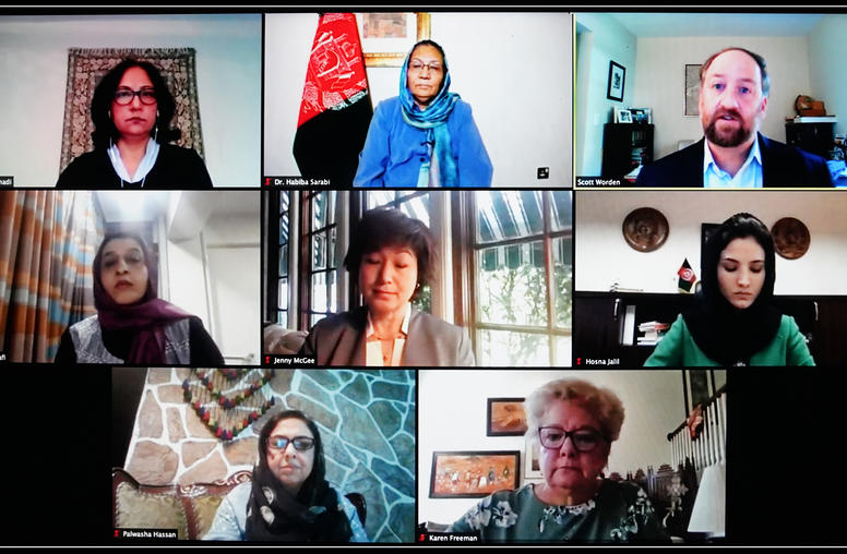 Afghan Peace Process Tests Women Activists