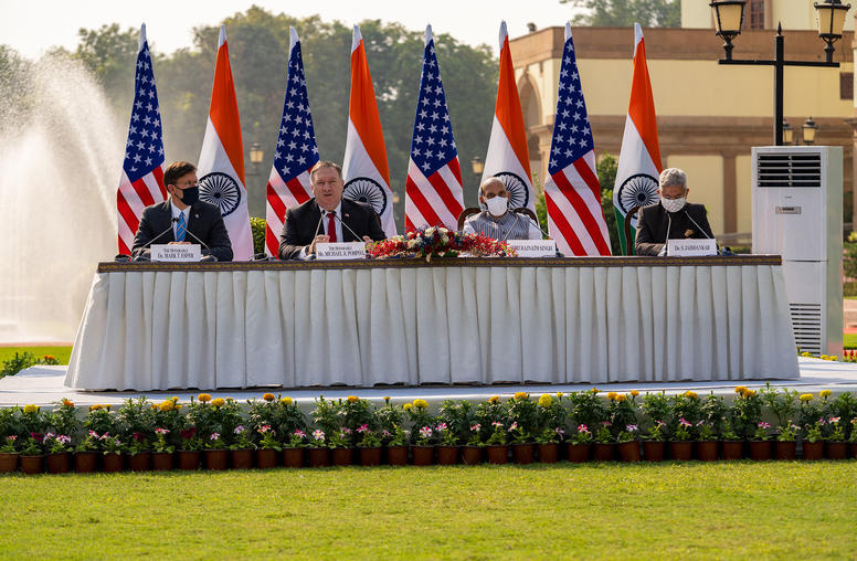 Spurred by China Rivalry, U.S., India Deepen Strategic Ties