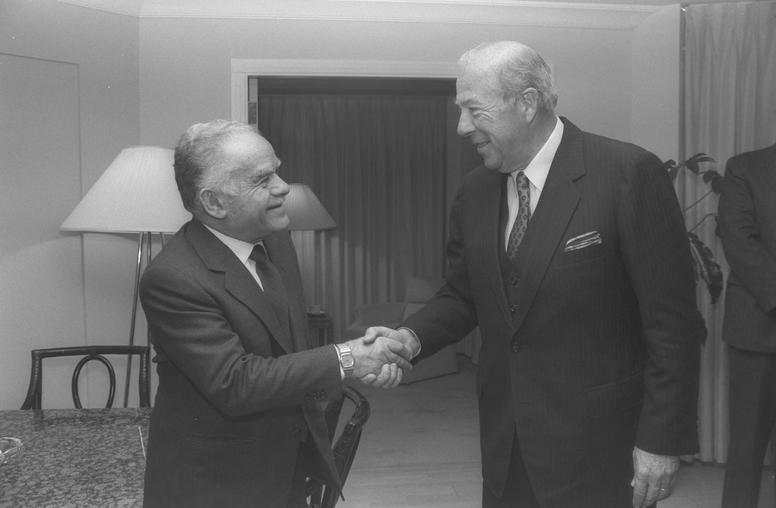 In Memory of George P. Shultz: The Constant Gardener-Diplomat