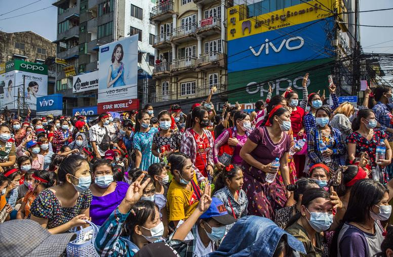 Myanmar in the Streets: A Nonviolent Movement Shows Staying Power