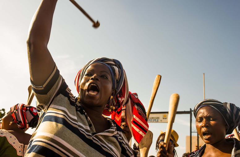 Mobilization, Negotiation, and Transition in Burkina Faso (French)