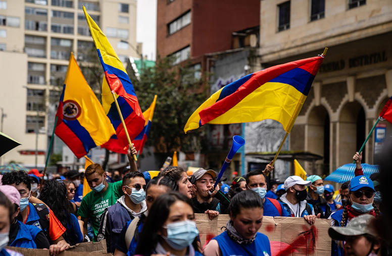 Colombia's National Strike: Inequality and Legitimacy Crises Drive Unrest