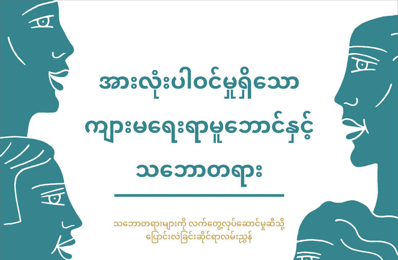 Gender Inclusive Framework and Theory (Burmese)
