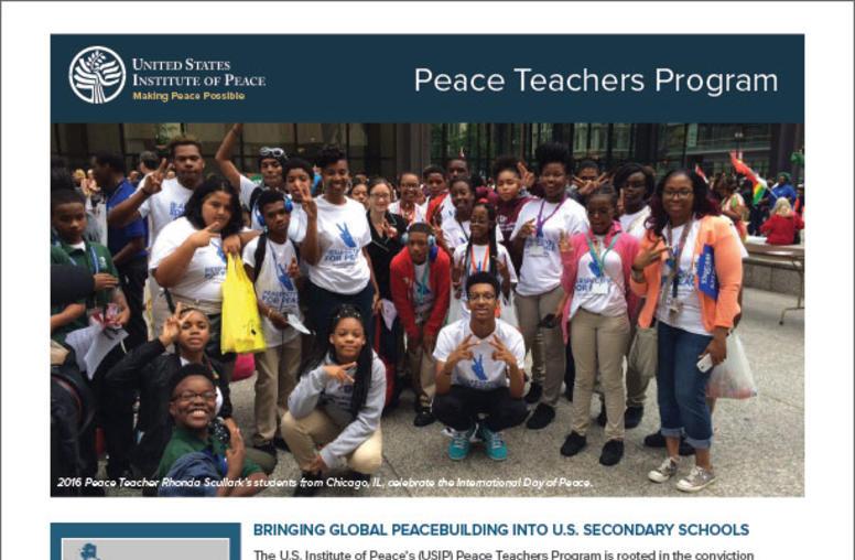 Peace Teachers Program