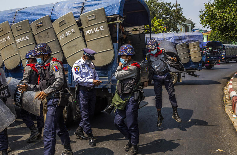 In Myanmar, the State the Generals Seized Is Coming Apart