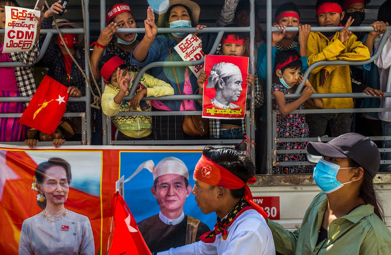 China and Myanmar's Ousted Leaders: Mixed Signals, Cold Interests
