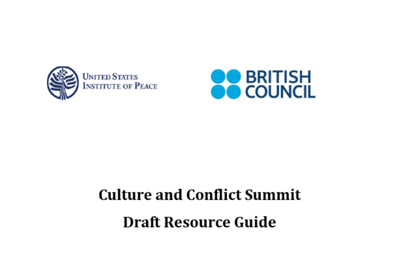 Culture and Conflict Summit Resource Guide