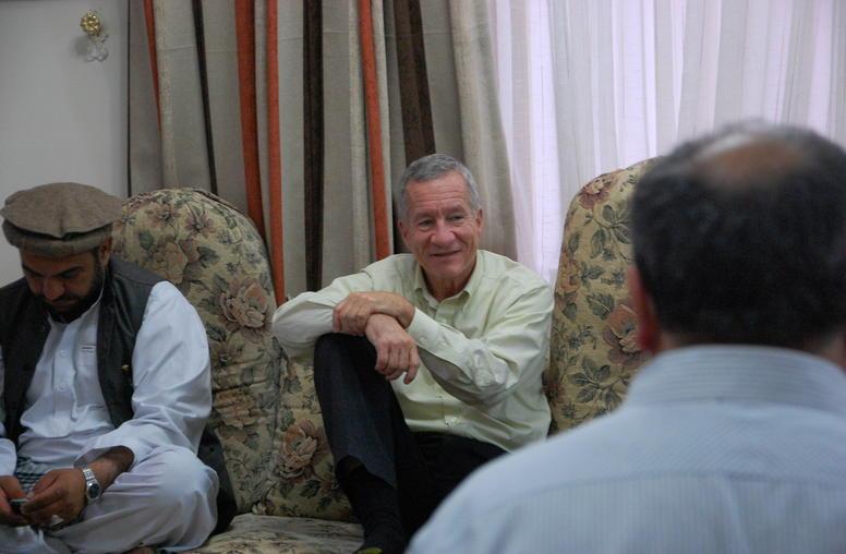 Peace Talks - What Afghan Elders Told Jim Marshall