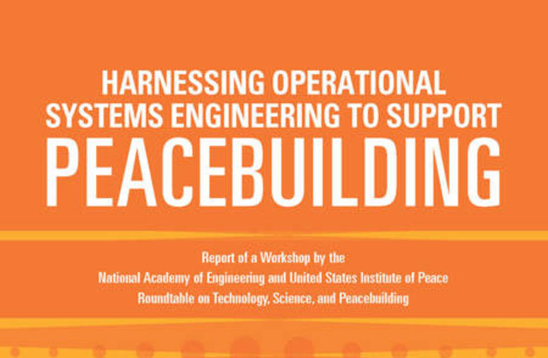 Harnessing Operational Systems Engineering to Support Peacebuilding
