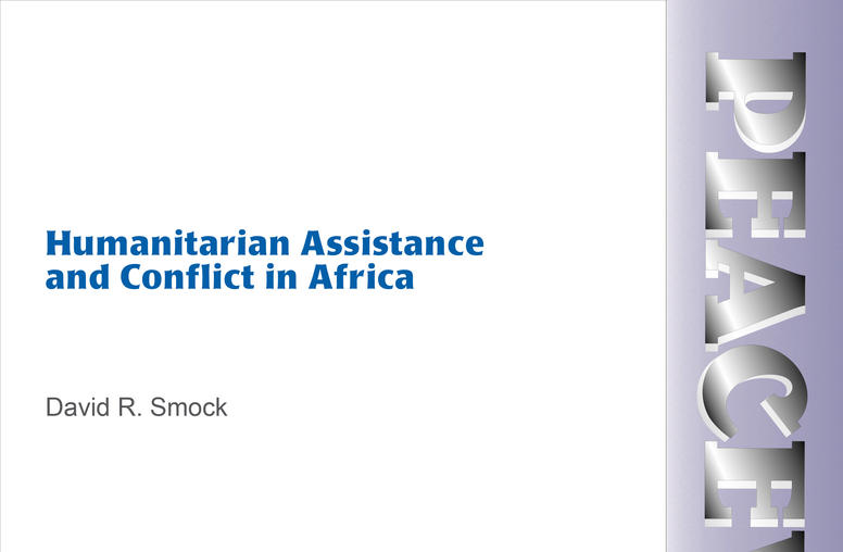 Humanitarian Assistance and Conflict in Africa
