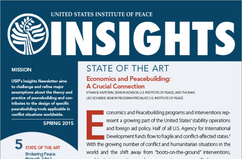 Spring 2015 Insights Newsletter