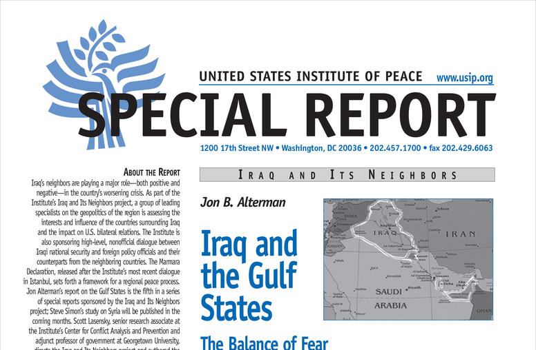 Iraq and the Gulf States: The Balance of Fear