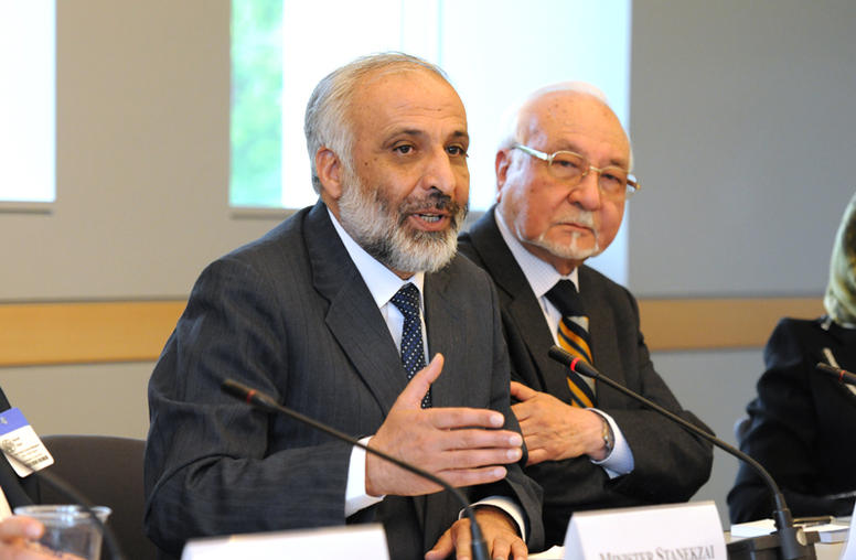 Head of the Secretariat for Afghanistan's High Peace Council Visits USIP