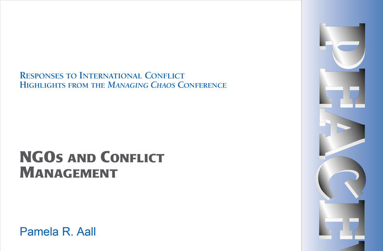 NGOs and Conflict Management