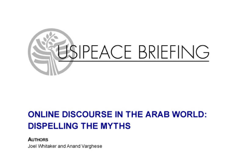 Online Discourse in the Arab World