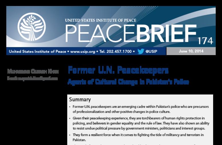 Former U.N. Peacekeepers