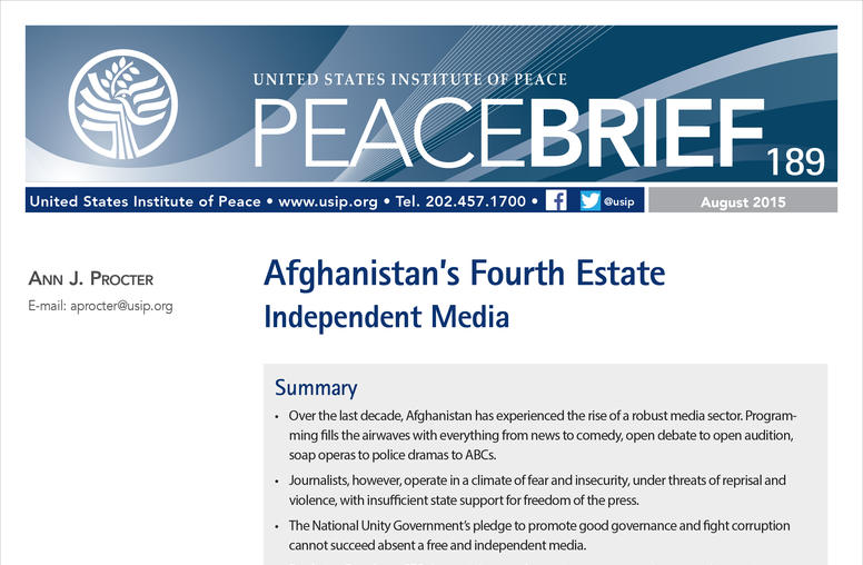 Afghanistan's Fourth Estate: Independent Media