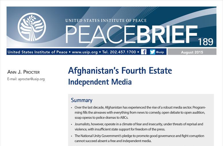 Afghanistan's Fourth Estate: Independent Media