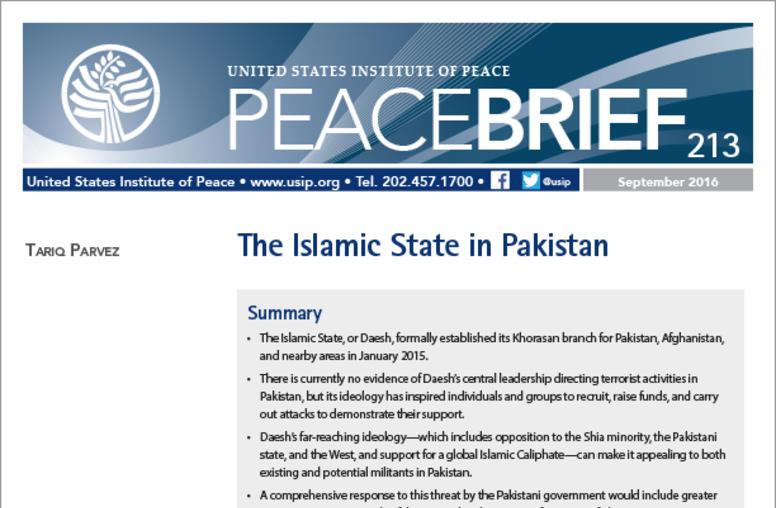 The Islamic State In Pakistan