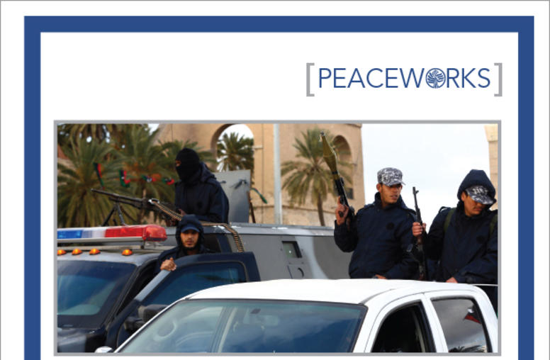 Policing Libya: Form And Function Of Policing Since The 2011 Revolution report cover