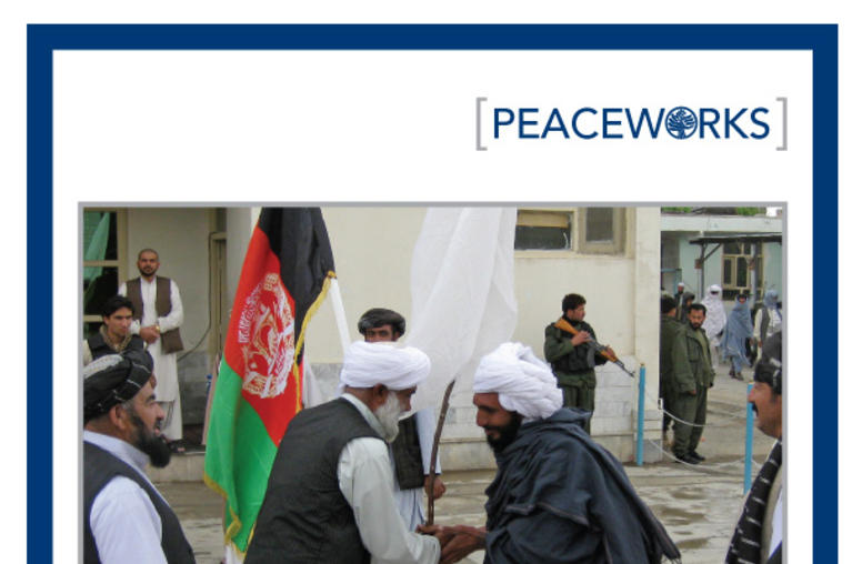 Beyond Power-sharing: Institutional Options for an Afghan Peace Process