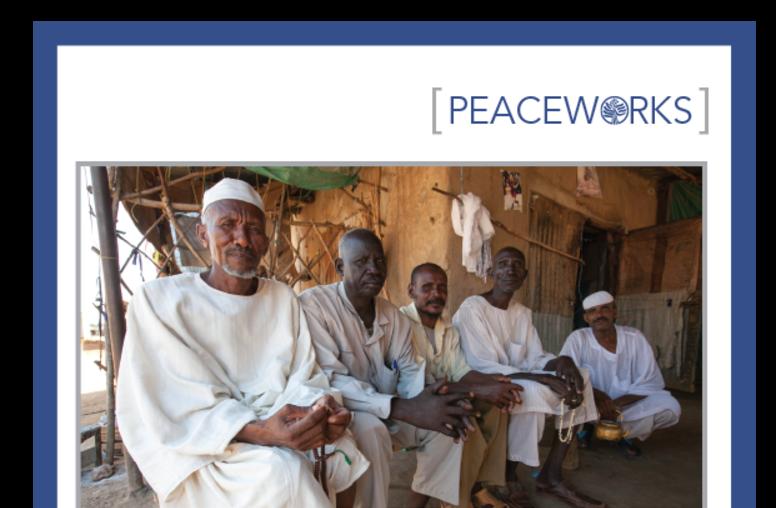 Local Peace Processes in Sudan and South Sudan