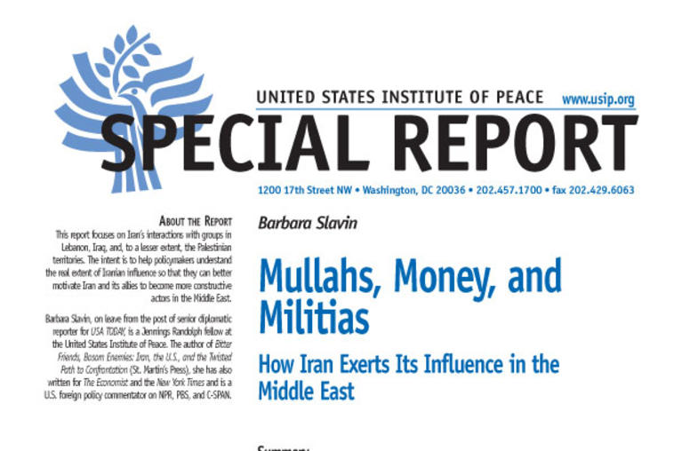 Mullahs, Money, and Militias: How Iran Exerts Its Influence in the Middle East