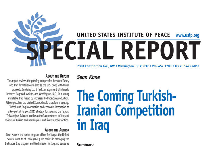 The Coming Turkish-Iranian Competition In Iraq