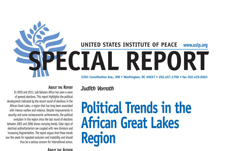 Political Trends in the African Great Lakes Region