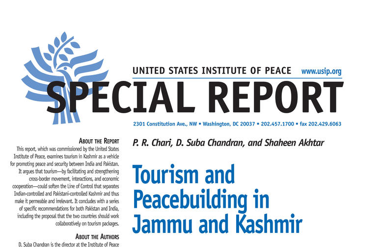 Tourism and Peacebuilding in Jammu and Kashmir