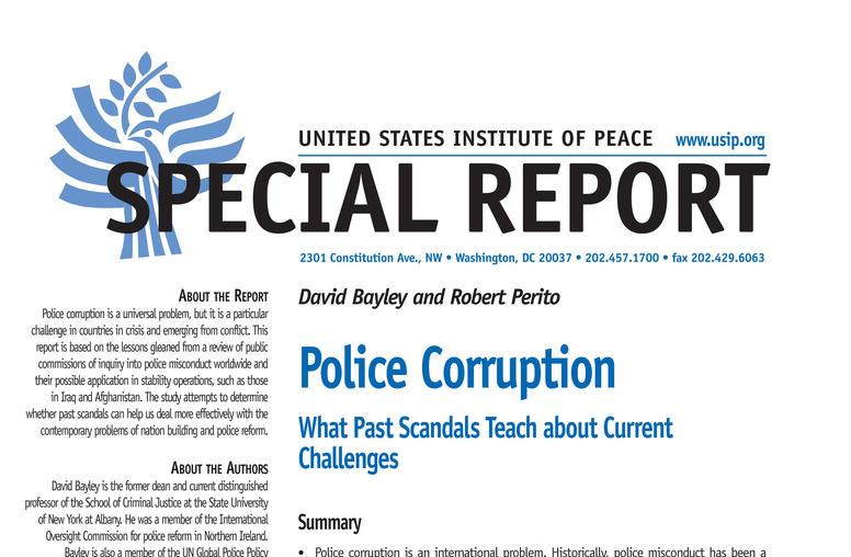 Police Corruption