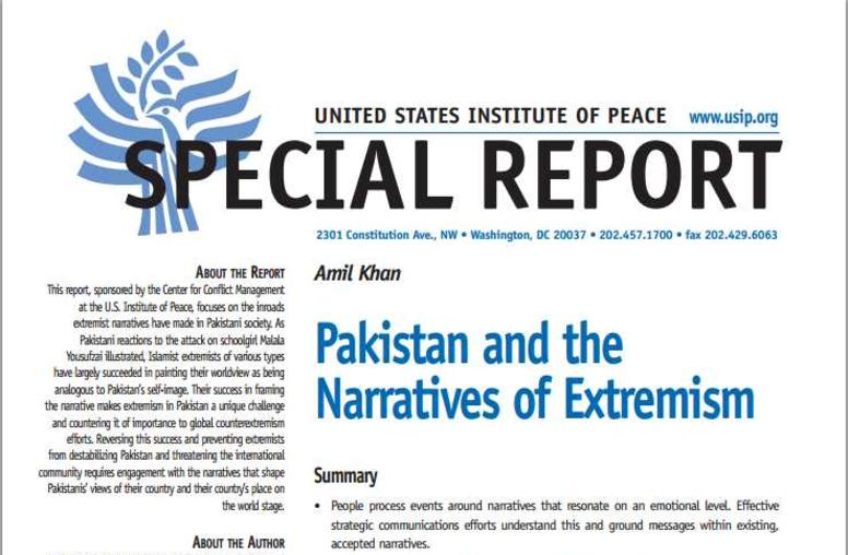 Pakistan and the Narratives of Extremism