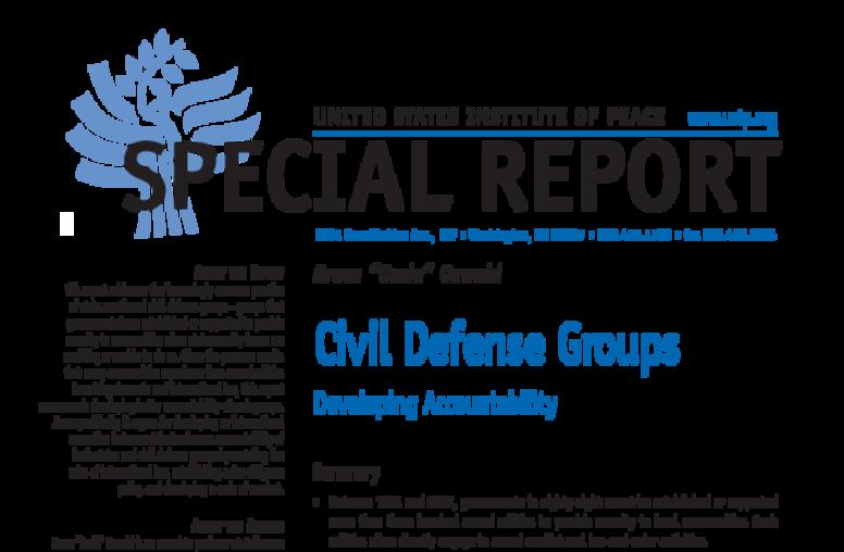 Civil Defense Groups
