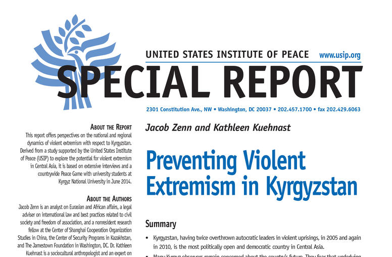 Preventing Violent Extremism in Kyrgyzstan