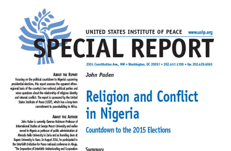 Religion and Conflict in Nigeria